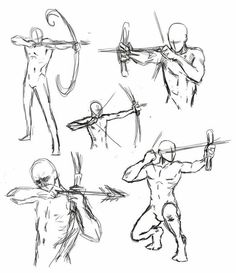 Human Figure Drawing Book Unique How to Draw the Human Body Study Archery Poses for Ic Drawing Reference Poses, Drawing Skills, Drawing Poses, Drawing Techniques, Drawing Sketches, Drawing Tips, Drawing Tutorials, Anatomy Reference, Couple Poses Drawing