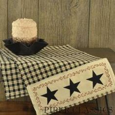 """Star Patch Table Runner - 36"""""""