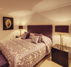 Add an inviting guest bedroom for weekend visitors.