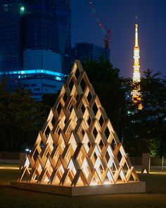 Kengo Kuma's Tsumiki Stacking Blocks