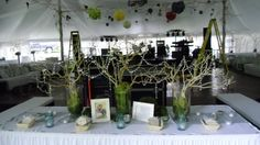 NO NOT THESE DECORATIONS:) note the couches and comfortable chairs with pillows in the background! Must do!