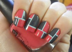 Holy Manicures: Color Blocked Nails.