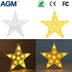 High Quality Stars Marquee LED Battery Desk Table Standing Lamp Night Light Letters For Kids Gifts Bedroom Home Decoration Letters For Kids, Light Letters, Led, 3d Star, Novelty Lighting, Marquise, Kids Gifts, Night Light, Home Decor