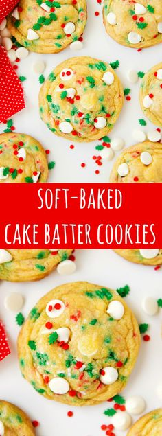 Soft-Baked Pudding Cake Batter Cookies