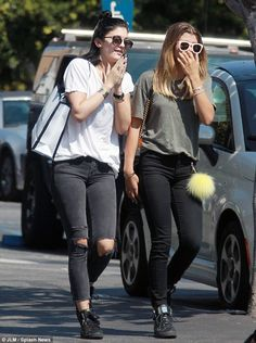 Let's go shopping: Kylie Jenner and Sofia Richie enjoyed a day of shopping in West Hollywo...