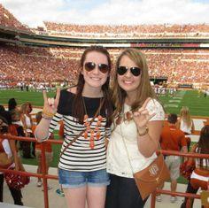 University of Texas Kappa Delta~ Texas Football