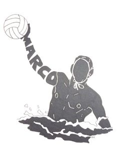 This is a one of a kind gift for anyone interested in water polo. You can customize your hand drawn silhouette by changing the name. The silhouette is drawn in black prisma pen. It is also available in three different sizes! I email a preview of your order the day before I mail it; you can double-check the name and add any other changes. It usually takes 3-5 business days to complete your order. This can be situation dependent, so if you need your silhouette by a certain day please contact…