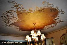 15 idées créatives pour transformer une pièce en décorant le plafond