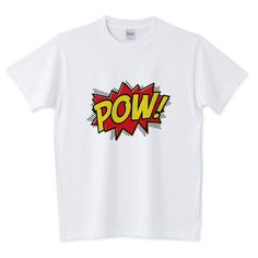 POW! 5.6オンスTシャツ (Printstar)
