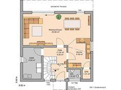 Bauhaus Novum von Kern-Haus | 2.Platz Traumhauspreis 2012  Kökslösningen!