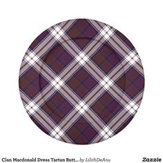 Clan Macdonald Dress Tartan Button Covers