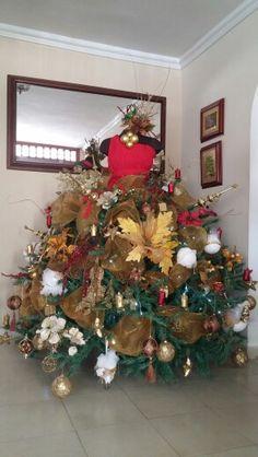 Arbol navideño fashion