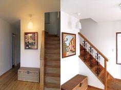 アイアン手すりの階段 Stairs, Home Decor, Ladders, Homemade Home Decor, Ladder, Staircases, Interior Design, Home Interiors, Decoration Home
