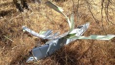 BREAKING First photos of the drone shot down by Turkish wareplanes near Syrian border: http://ift.tt/1LxfWSZ