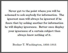 Booker T. Washington Quotes | Booker T. Washington Quote on Education