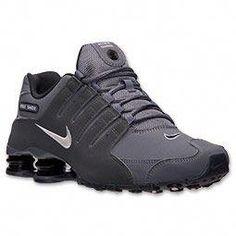big sale 09e1a 2aa9e Men s Nike Shox NZ Running Shoes   FinishLine.com   Dark Grey Metallic Iron