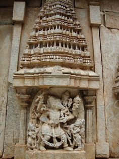 The Brahmeshvara temple (also spelt Brahmeshwara ) is a fine specimen of century Hoysala architecture and is located in the town o. 12th Century, Hinduism, Temples, Greek, Statue, Architecture, Arquitetura, Architecture Design, Greece