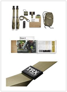 This TRX FORCE Kit Tactical features our toughest, lightest Suspension Trainer, the 12-week TRX Tactical Conditioning Program.