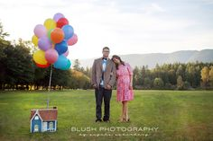 UP themed photoshoot engagement disney