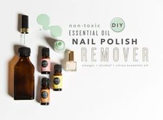 Whether you do your nails at home or prefer a manicurist to polish your toes, at some point the nail polish has to come off. Using over-the-counter nail polish