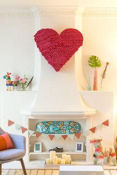 Sweet & Simple Ways to Show Your Home You Love It This Valentine's Day