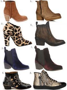 love ankle boots!  casual, comfy and cheaper than high boots!  recession boots!