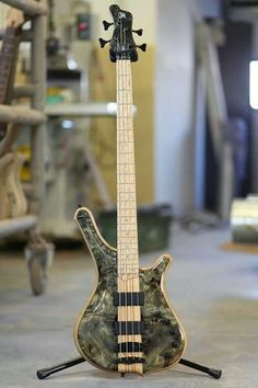 Mayones 4 string bass
