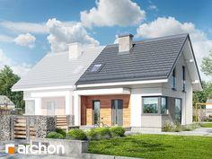projekt Dom w borówkach (BN) widok 1