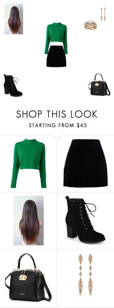 """Untitled #171"" by monroden on Polyvore featuring DKNY, Journee Collection, Fernando Jorge e Allurez"