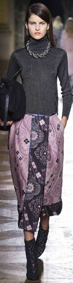 Fall 2015 Ready-to-Wear Dries Van Noten