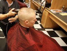 Barber Shop Haircuts, Military Hair, Hair Barber, Bald Fade, Cute Gay, Shaving, Cheer, Hair Cuts, Hair Beauty