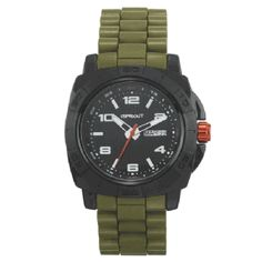Olive Green Men's Watch by Sprout - FashionFilmsNYC.com