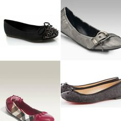 Which ballerina flat should I wear? #shoe #fashion #style #cute #woman