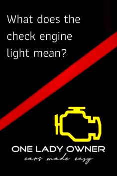 Did the check engine light just come on? One Lady Owner shares some insight into what your check engine light might mean and what you need to do next. Exhaust Gas Recirculation, Engine Control Unit, Car Care Tips, Be Honest With Yourself, Car Hacks, Sick Kids, How To Start Running, Car Engine