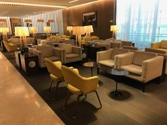 Review: American Express Centurion Lounge Buenos Aires (EZE) - Live and Let's Fly  ||  A detailed American Express Centurion Lounge Buenos Aires Review, including pictures of seating, food, family room, business center, and restrooms. http://liveandletsfly.boardingarea.com/2017/09/26/american-express-centurion-lounge-buenos-aires-review/?utm_campaign=crowdfire&utm_content=crowdfire&utm_medium=social&utm_source=pinterest