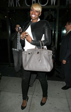 NeNe Leakes Photos Photos - 'Real Housewives Of Atlanta' star NeNe Leakes out for dinner at Mr Chow in Beverly Hills, California on March 20, 2012 - NeNe Leakes Out For Dinner At Mr Chow