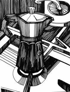 koffiepotje, verkocht