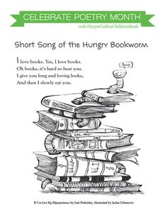 Happy Poetry Month! We'll be celebrating all... | HarperCollins Children's Books