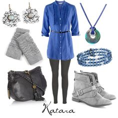 Katara, created by character-inspired-style on Polyvore