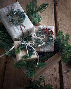 クリスマスプレゼントラッピングアイディア Christmas present | トワールブランシェスタイル