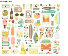 Spring 2015 Reveal Day 1 - Summer Vibes   Simple Stories #simplestories #SummerVibes