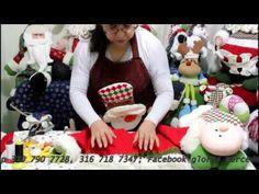 papa noel bigoton parte 1 - YouTube Felt Ornaments, Christmas Ornaments, Christmas Gnome, Ideas Para, Dolls, Holiday Decor, Creative, Youtube, Diy