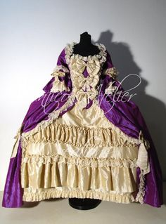 Custom Marie Antoinette 18th Century Gown. Just so Divine!!!