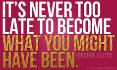 - keep moving forward