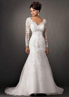 white wedding gown rehersal plunging back draped simple ballgown lace overlay curvy embroidered 3638