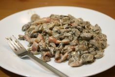 wine and knives: ciuperci trase in unt cu usturoi, pancetta si sman...