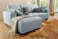 Home Affaire Eck Couch Grau 234cm Recamiere Rechts Bornholm In 2020 Home Home Decor Furniture