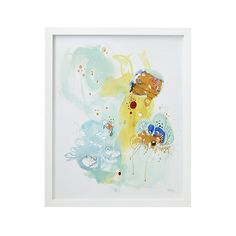 Abstract Underwater Art | Crate and Barrel