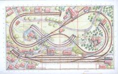 TT-scale layout, design Talien