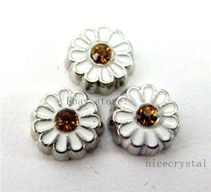 10pcs sunflower Floating charms For Glass living memory Locket FC526 #Unbranded
